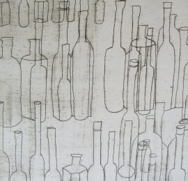 Still-life-bottles-lithograph