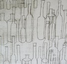 Still-life-bottles-lithograph